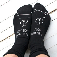 Love you Daddy Bear Personalised Socks