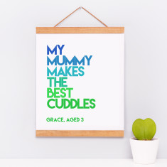 Personalised Child's Quote Print
