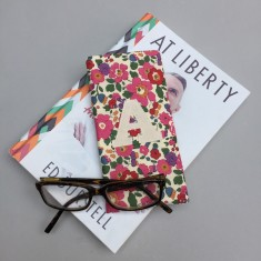 Liberty Print Personalised Glasses Case