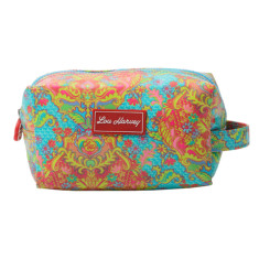Box Cosmetic Bag in Indian Summer print
