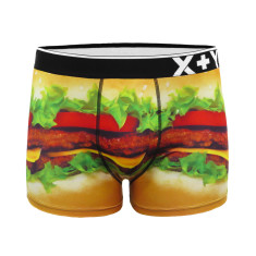 Men's burger trunk