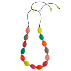 Paradiso long pod party necklace