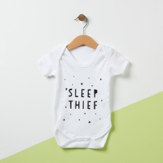 Sleep Thief Baby Bodysuit