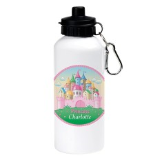 Personalised princess castle drink bottle