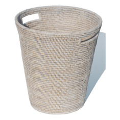 Waste Basket V841 white
