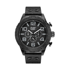 CAT CAMDEN Dual - Time series watch in Black & Grey