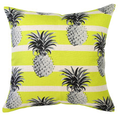 Mono Pineapples Yellow Cushion (various sizes)