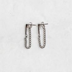 Alexa earrings in silver