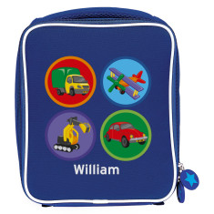 Personalised transport lunch bag