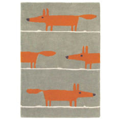 Scion Mr Fox Cinnamon Wool Rug