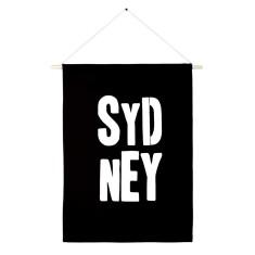 Sydney handmade wall banner