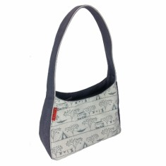 Tamelia cotton canvas Camping handbag