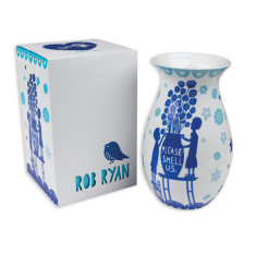 Rob Ryan ceramic vase