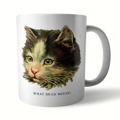 Naughty Kitty: Mouse Ceramic Mug