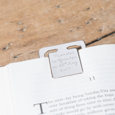 Personalised Bookmark Clip