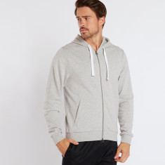 Two way zip hoodie