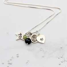 Celebrate 70th Birthday Necklace