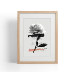 Love and Roses print