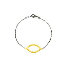 Eye 2-tone bracelet