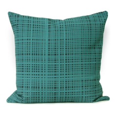 Speargrass Cushion Cover in Teal / Navy (The Australian Collection)