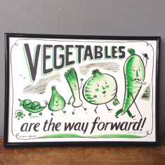 Vegetables are the way forward print