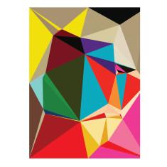 Velines geometric art print