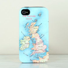 British Isles Map iPhone Samsung Phone Case