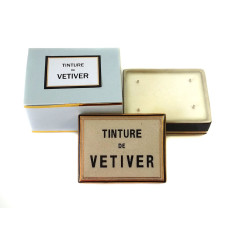 Tinture de Vetiver ceramic box candle