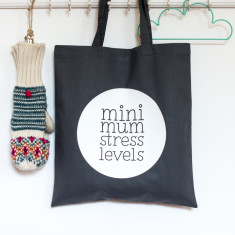 Mini Mum Stress Levels Tote
