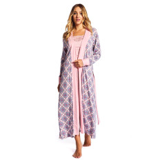 Pink muse robe