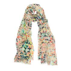 Mini puzzle geo scarf