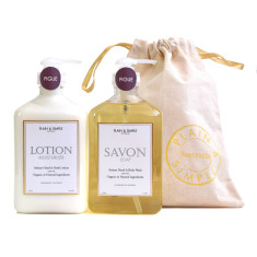 Hampton Body Wash Savon & Body Lotion Gift Set