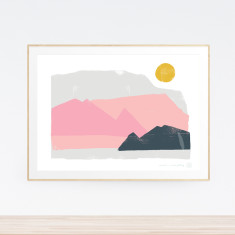 Summit Landscape Art Print