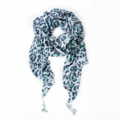 Silk Animal print scarf