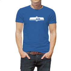 Rearview Mustang men's organic t-shirt