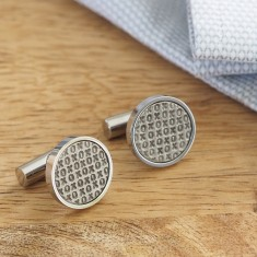Hugs + Kisses Cufflinks