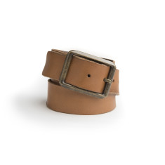 Liam leather belt in tan