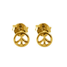 Peace studs (Various Colours)