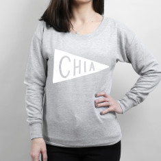 Chia Scoop Neck Women's Sweater