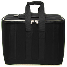 Large 32L insulated cooler bag in Black