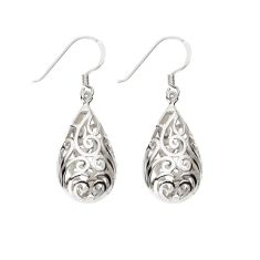 Diana filigree earrings