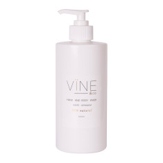 White geranium hand & body wash