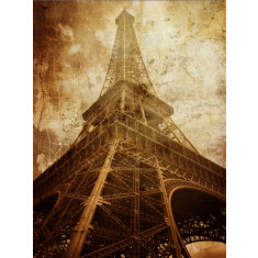 Vintage Paris ready to hang canvas art