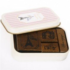 Vintage Stamp Set - Petit Musee - Paris