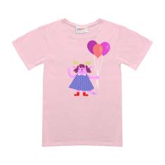 Pink violet t-shirt