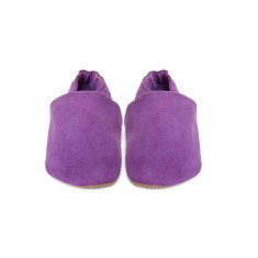 Violet suede luxe pre-walker shoes