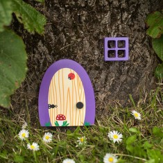 Violet garden & home fairy door