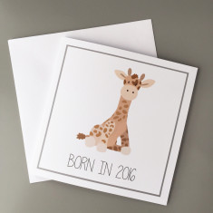 Born in 2016 Baby Card