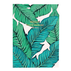 Wouf notebook in tropical (multiple sizes)