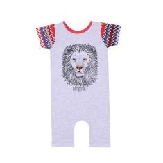 Lion Red Baby Romper (Onesie)